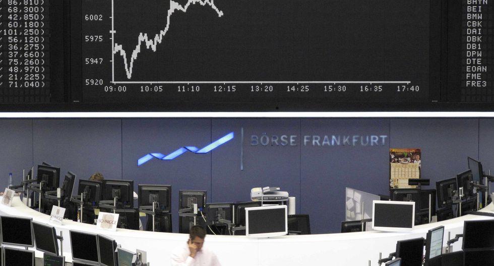 Mayoría de bolsas europeas cerraron a la baja. (Foto: Reuters)