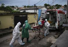 Brasil registra 1.274 muertes por coronavirus en plena segunda ola de contagios