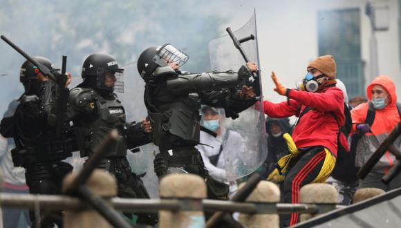 Paro nacional en Colombia: una persona muere durante las protestas en Cali  contra la reforma tributaria | coronavirus | covid-19 | Iván Duque | EN  DIRECTO | MINUTO A MINUTO | FOTOS | ESMAD | MUNDO | EL COMERCIO PERÚ