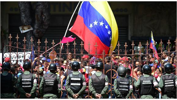 """""""Preocupa que la pérdida de derechos básicos en numerosos países como Venezuela [en la imagen] y Siria esté aumentando la brecha global de libertades en años más recientes""""."""