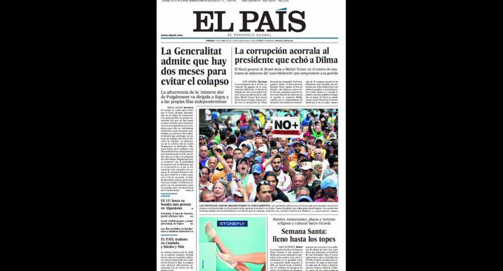 """""""La madre de todas las bombas"""" en las portadas del mundo - 8"""
