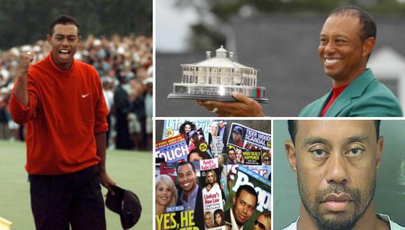 Tiger Woods conquistó este domingo el Masters de Augusta, un Grand Slam luego de once años. Repasa su historia. (Fotos: Agencias)