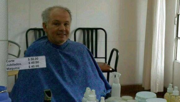 Foto de Alejandro Sabella en peluquería causa furor en Twitter