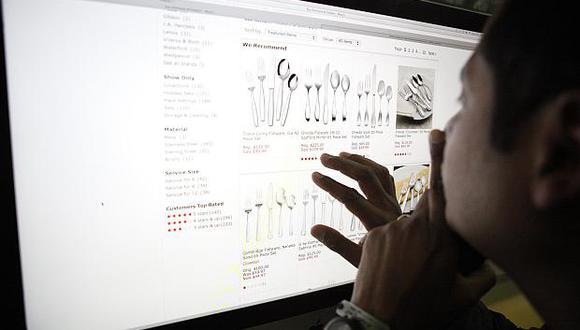 El comercio electrónico se expandirá 47% entre 2013 y 2018 en el país, según Comex Perú. (Foto: El Comercio)