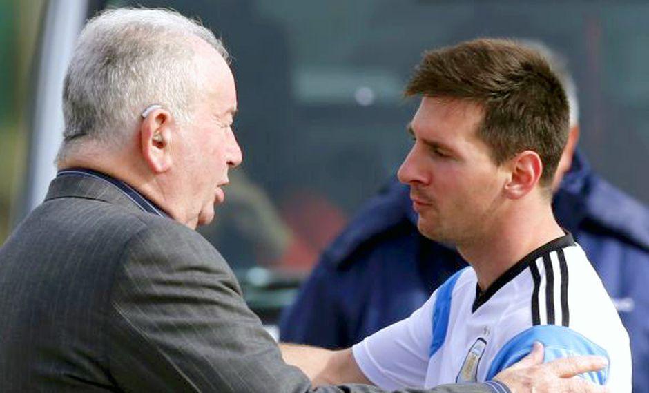 """Julio Grondona, el padrino de Messi"", por Daniel Arcucci"