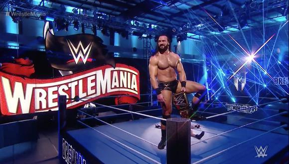 WrestleMania 36: Drew McIntyre es el nuevo Campeón de la WWE