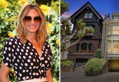 Recorre la preciosa casa de Julia Roberts en San Francisco | FOTOS