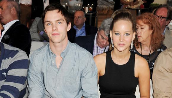 Nicholas Hoult habló de las fotos íntimas de Jennifer Lawrence