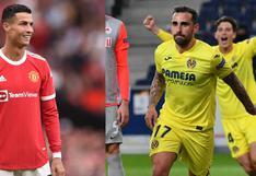 Manchester United vs Villarreal en vivo: cuándo, a qué hora y cómo ver partido por Champions League