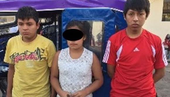 Trujillo: policía intervine a adolescente acusada de extorsión