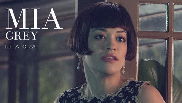 """""""50 sombras de Grey"""": primera imagen de Rita Ora como Mia Grey"""