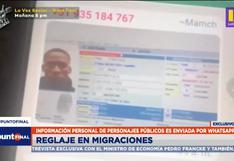 Luis Advíncula y la madre de Paolo Guerrero aparecen en lista de filtración de Migraciones