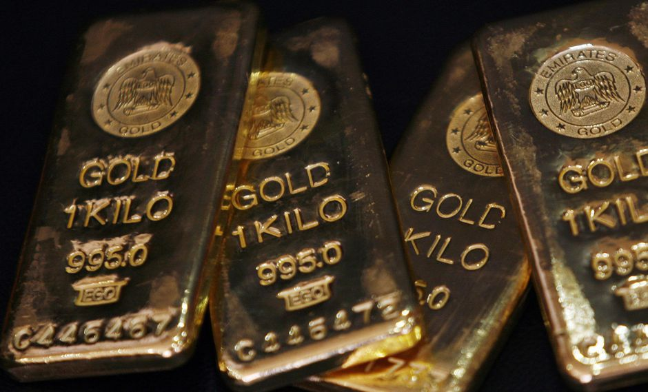 El oro ha subido en un corto período de tiempo con un alza acumulada de cerca de 2,3% esta semana. (Foto: Reuters)