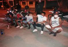 Talara: intervienen a 10 personas en la vía pública bebiendo licor y sin usar mascarilla
