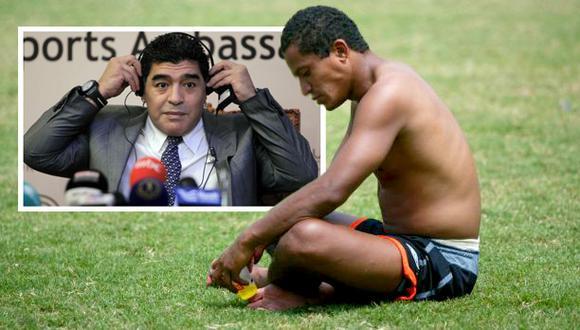 Kukín Flores y el día en que no reconoció a Diego Maradona