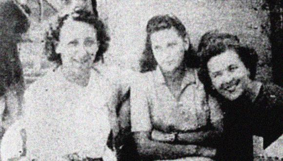 Estas jóvenes llegaron al Callao escapando de las secuelas de la Segunda Guerra Mundial. Foto: GEC Archivo Histórico