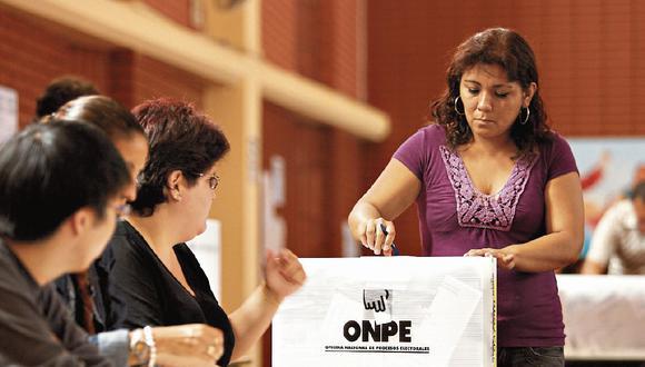 Las elecciones generales se realizarán el domingo 11 de abril de 2021 | Foto: GEC / Referencial
