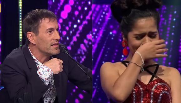 Así reaccionó la imitadora de Selena Quintanilla ante los comentarios del jurado. (Capturas: Latina)