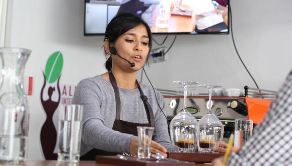 Ariana Medina durante la final, realizada el domingo 2 en Cate Tasting Room.