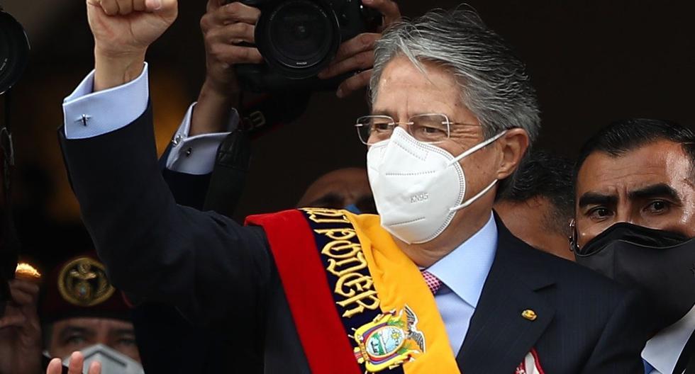 Guillermo Lasso llegó a la presidencia de Ecuador tras vencer en el balotaje del pasado 11 de abril al candidato correísta Andrés Arauz. (Foto: EFE/ José Jácome)