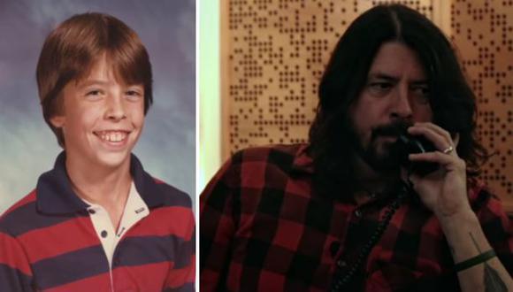 Dave Grohl 'molesto' con su mamá por publicar fotos vergonzosas