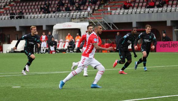 Sergio Peña fue el mejor jugador de la jornada en Holanda para un medio local. (Foto: @FC_Emmen)