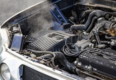Tres recomendaciones en caso se caliente el motor de tu auto en verano