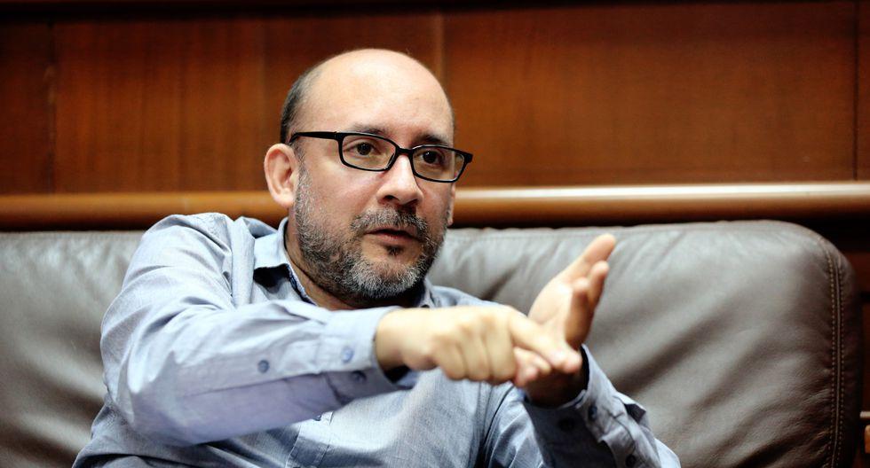 Ministro de Trabajo y Promoción del Empleo, Christian Sánchez. (Foto: MTPE para El Comercio)