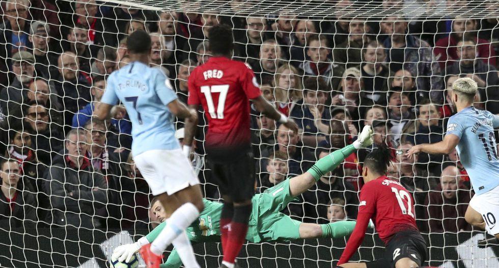 Manchester United vs. Manchester City: mira las mejores imágenes del derbi por la Premier League. (Foto: AP)