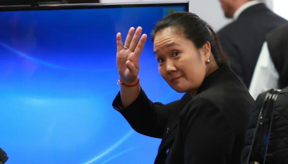 Keiko Fujimori es investigada por el presunto delito de lavado de activos. (Foto: Archivo El Comercio)