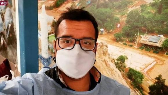 El Colegio Médico dedicó emotivas palabras al infectólogo que estuvo internado 11 días en el hospital Edgardo Rebagliati de Essalud. (Foto: RPP)