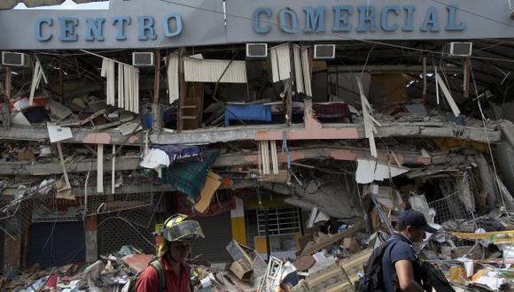 """Terremoto en Ecuador: """"La reconstrucción tomará años"""""""