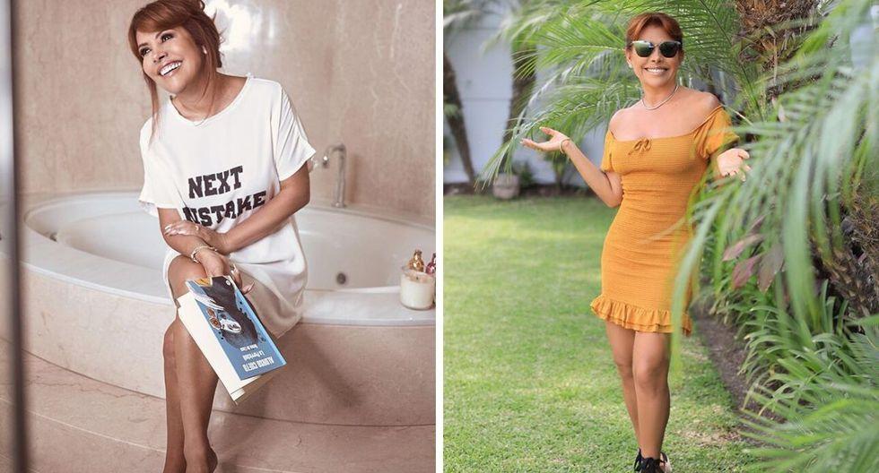 Magaly Medina criticó a quienes crearon las noticias falsas sobre un supuesto cáncer que padecía. (@magalymedinav)