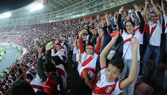 El partido Perú vs Colombia se jugará en el Estadio Nacional