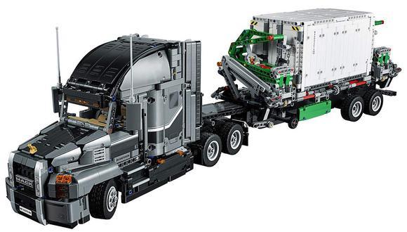 Además, viene con un camión recolector de basura completamente funcional, que es transportado sobre la carreta del trailer. El precio ronda a los 190 dólares. (Foto: Difusión)