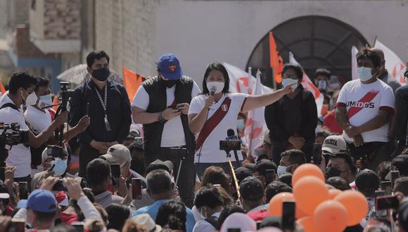 Fujimori Higuchi, en la última semana, realizó un nuevo viaje al norte del país: Áncash y La Libertad. El jueves realizó un mitin en el pueblo joven Miraflores en Chimbote. (Foto: Leandro Britto / GEC)