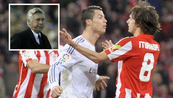 """Ancelotti: """"No creo que Cristiano reciba una sanción grave"""""""