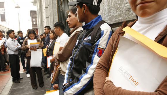 Tasa de desempleo en la región será una de las más altas en la región, advierte la OIT.