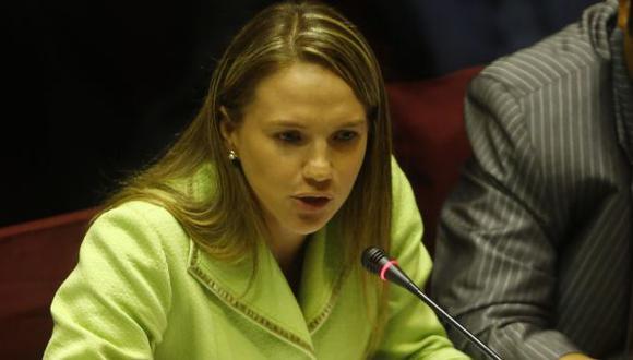 La legisladora Luciana León aseguró que los dos departamentos de Barranco son los únicos bienes que posee. (Foto archivo Alessandro Currarino)