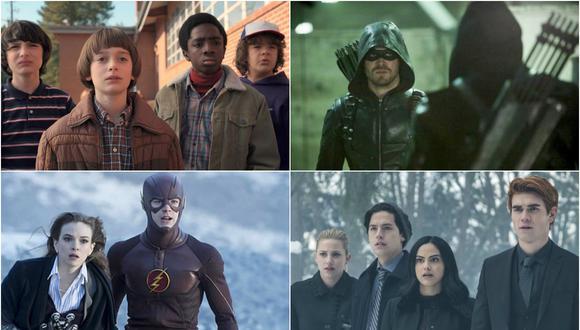 "Riverdale"", ""Stranger Things"", ""Arrow"" y ""The Flash"""