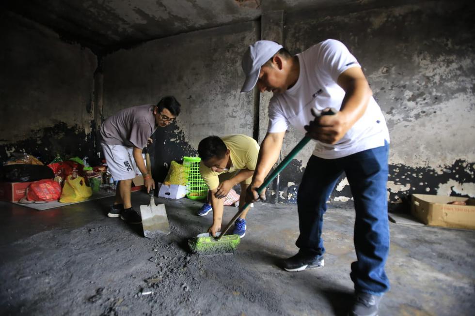 Tragedia en Villa El Salvador: esta es la situación en el lugar del incendio. (Foto: Jessica Vicente)