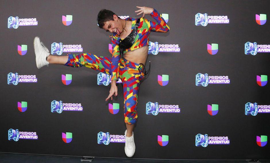 Joaquín Bondoni en los Premios Juventud 2019. (Foto: EFE)