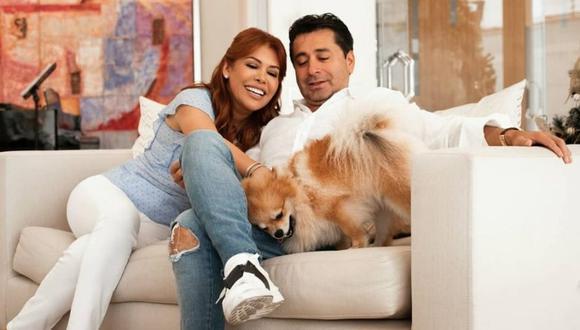Magaly Medina anunció que se reconcilió con su esposo Alfredo Zambrano. (Foto: @magalymedinav).