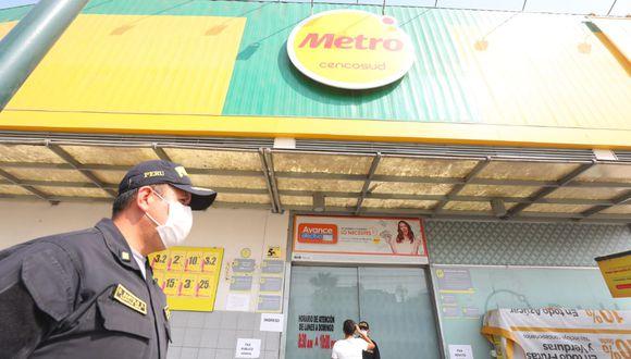 Dos trabajadores de Metro dieron positivo a prueba de coronavirus. (Foto: GEC)