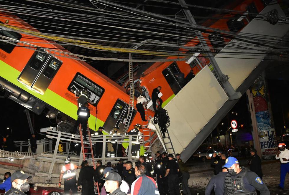 Accidente en la Línea 12 del Metro de CDMX | México EN VIVO: Colapsa  estructura de la Línea 12 del Metro de CDMX en la estación Olivos, hay al  menos 23 muertos