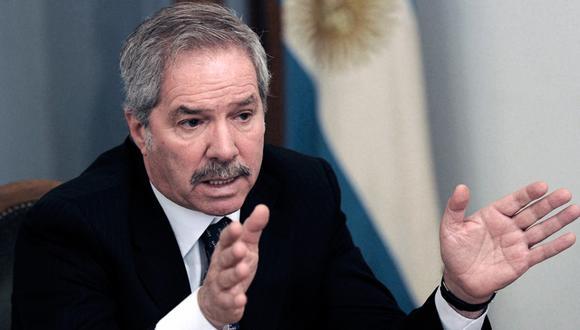 Felipe Solá, canciller de Argentina, opinó sobre la crisis política en el Perú. (Télam).