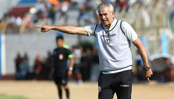 Gregorio Pérez llegó a Universitario a inicios del 2020 y fue despedido en junio del mismo año. (Foto: GEC)