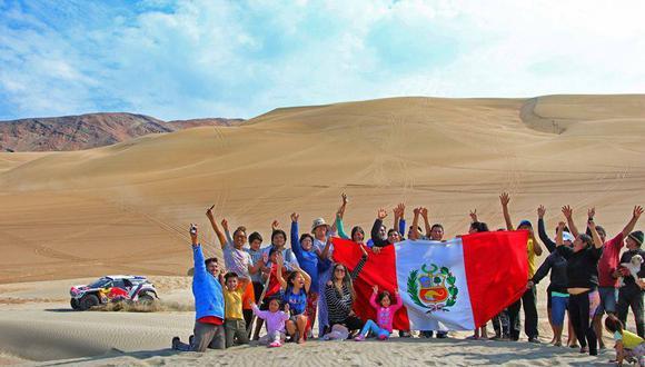 El territorio peruano será sede del Dakar 2019 según lo anunció la propia organización en sus redes sociales. (Foto: Facebook Dakar)