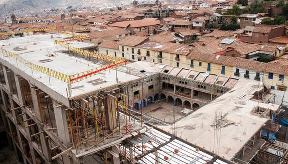 El pasado 13 de setiembre, el juez dirimente Wilber Bustamante votó a favor de la demolición del hotel, tras un largo proceso de amparo iniciado en enero del 2016 por la Comisión de Juristas de Cusco. (Foto: Ministerio de Cultura)