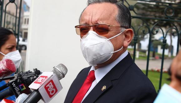 Edgar Alarcón Edgar Alarcón dijo esperar que el pleno apruebe su pedido para seguir investigando el caso 'Richard Swing'. (Grupo El Comercio)
